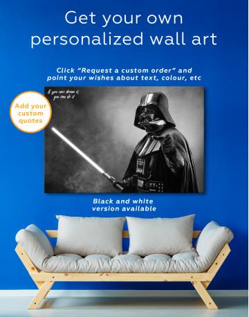 Star Wars Darth Vader Canvas Wall Art - image 5