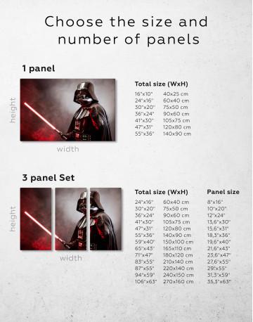 Star Wars Darth Vader Canvas Wall Art - image 7