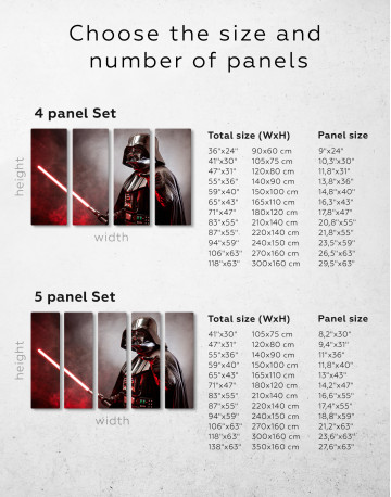 Star Wars Darth Vader Canvas Wall Art - image 10