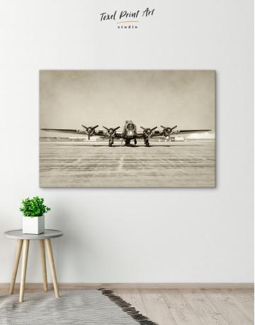 Propeller Driven Aircraft Canvas Wall Art - image 6