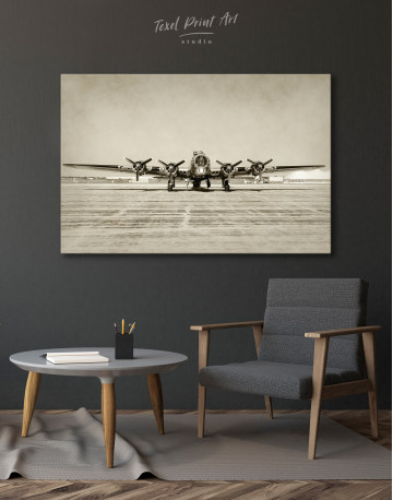 Propeller Driven Aircraft Canvas Wall Art - image 4