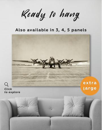 Propeller Driven Aircraft Canvas Wall Art - image 3