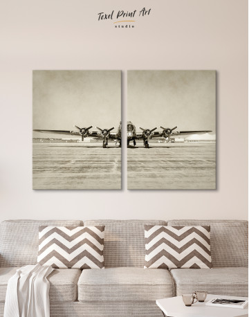 Propeller Driven Aircraft Canvas Wall Art - image 9