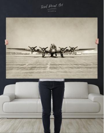 Propeller Driven Aircraft Canvas Wall Art - image 10