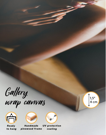 Sexy African Girl Canvas Wall Art - image 6
