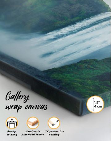 Skogafoss Waterfall Canvas Wall Art - image 2