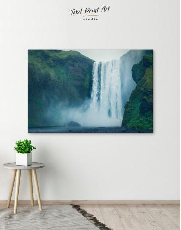 Skogafoss Waterfall Canvas Wall Art - image 4