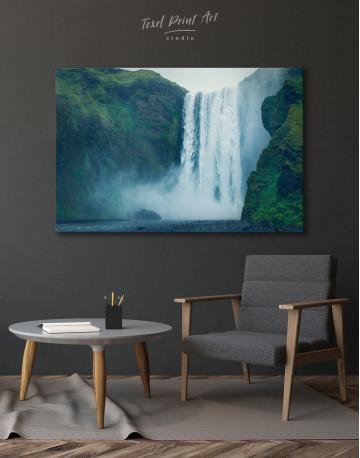 Skogafoss Waterfall Canvas Wall Art - image 6