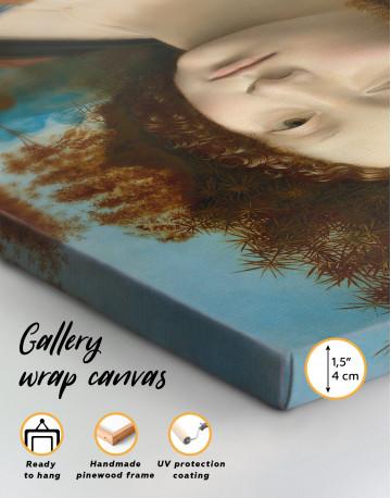 Ginevra de' Benci Canvas Wall Art - image 1