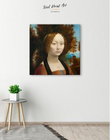 Ginevra de' Benci Canvas Wall Art - image 4