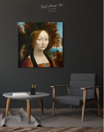 Ginevra de' Benci Canvas Wall Art - image 5
