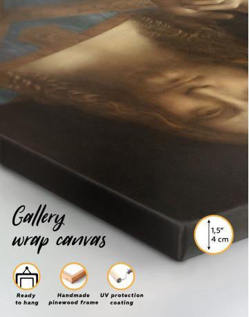 Salvator Mundi Canvas Wall Art - image 1