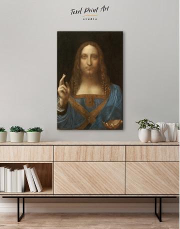 Salvator Mundi Canvas Wall Art - image 3