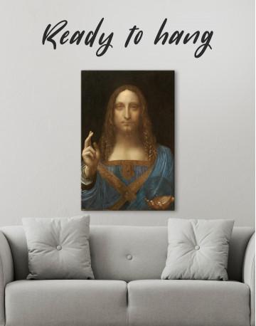Salvator Mundi Canvas Wall Art - image 4