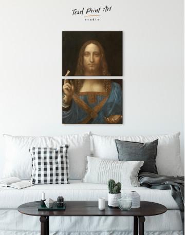 Salvator Mundi Canvas Wall Art - image 5
