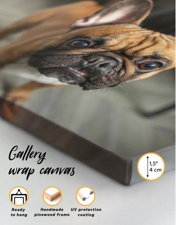 French Bulldog Photography Canvas Wall Art - image 8