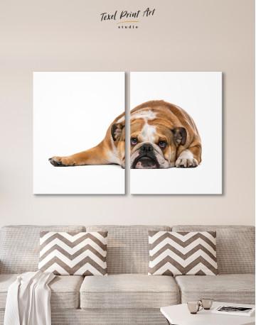 French Bulldog Lying on the Floor Canvas Wall Art - image 10