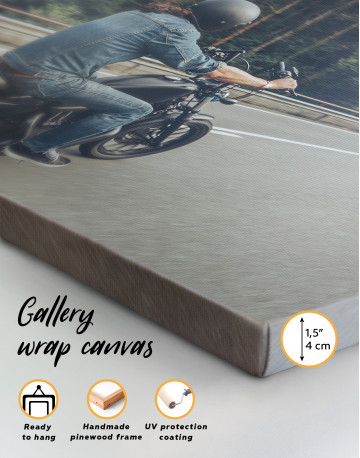Chopper Rider Canvas Wall Art - image 9