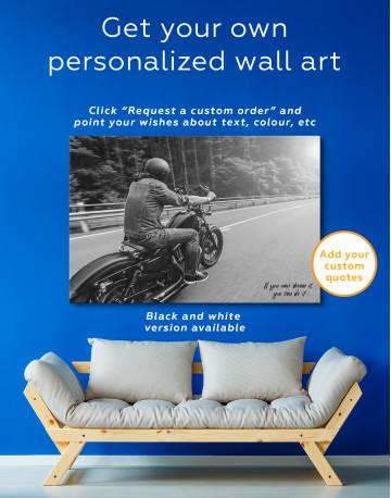 Chopper Rider Canvas Wall Art - image 6
