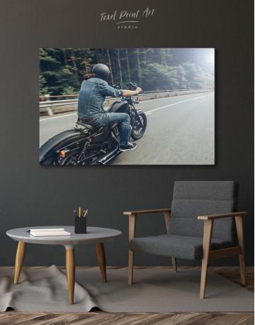 Chopper Rider Canvas Wall Art - image 5