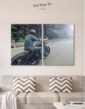Chopper Rider Canvas Wall Art - image 10