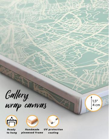 Rome City Map Canvas Wall Art - image 6