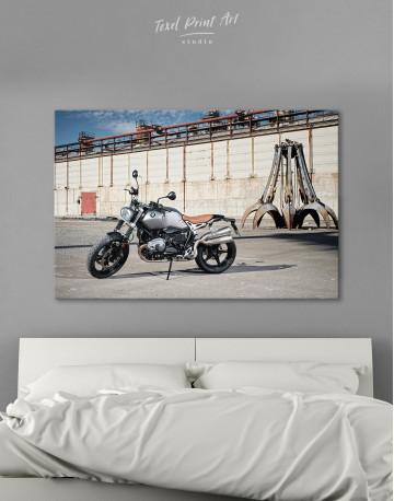 BMW R Nine T Scrambler Canvas Wall Art