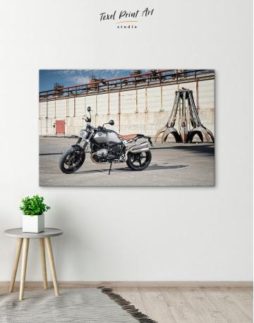 BMW R Nine T Scrambler Canvas Wall Art - image 4
