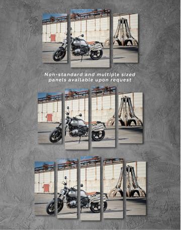 BMW R Nine T Scrambler Canvas Wall Art - image 5