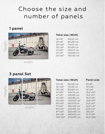 BMW R Nine T Scrambler Canvas Wall Art - image 10