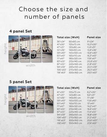 BMW R Nine T Scrambler Canvas Wall Art - image 8