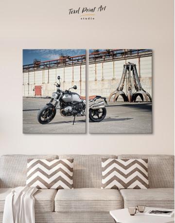 BMW R Nine T Scrambler Canvas Wall Art - image 9