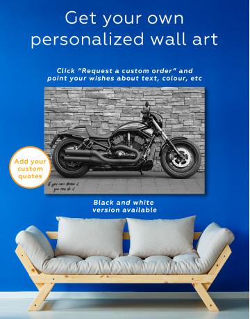 Harley Davidson Vrscdx Canvas Wall Art - image 7