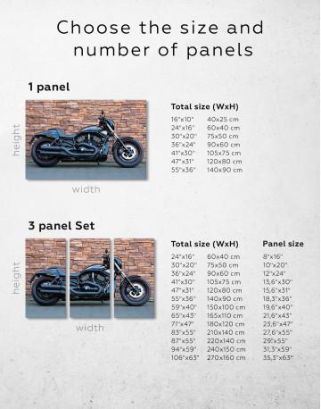 Harley Davidson Vrscdx Canvas Wall Art - image 1