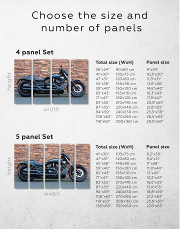 Harley Davidson Vrscdx Canvas Wall Art - image 2