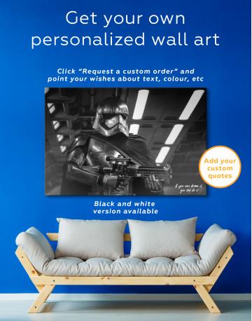 Captan Phasma Canvas Wall Art - image 6
