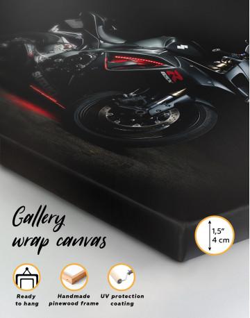 Black Suzuki GSXR Canvas Wall Art - image 7