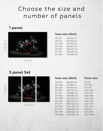 Black Suzuki GSXR Canvas Wall Art - image 9