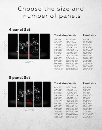 Black Suzuki GSXR Canvas Wall Art - image 1