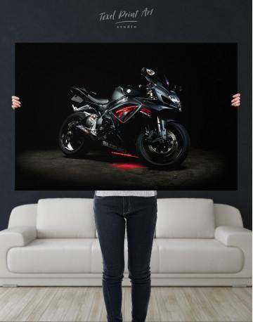 Black Suzuki GSXR Canvas Wall Art - image 10