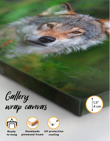 Wolves Glance Canvas Wall Art - image 8