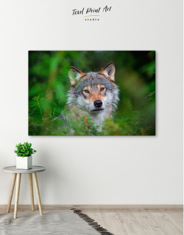 Wolves Glance Canvas Wall Art - image 6