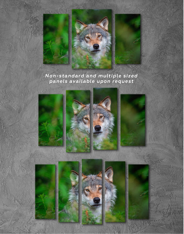 Wolves Glance Canvas Wall Art - image 5