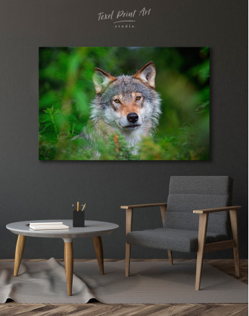 Wolves Glance Canvas Wall Art - image 4