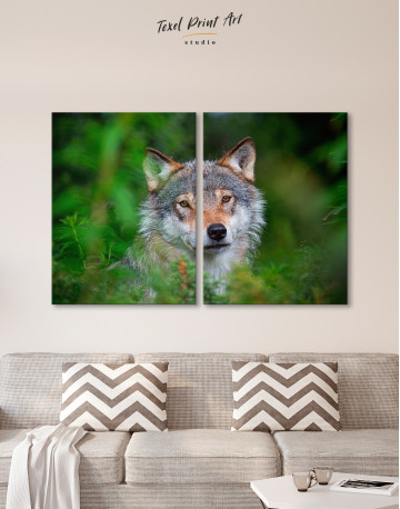 Wolves Glance Canvas Wall Art - image 10