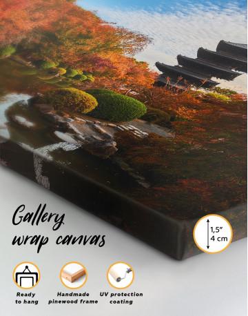 Toji Temple Kyoto Japan Canvas Wall Art - image 3