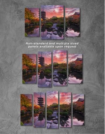 Toji Temple in Kyoto Canvas Wall Art - image 6