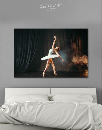 Ballerina Photo Canvas Wall Art