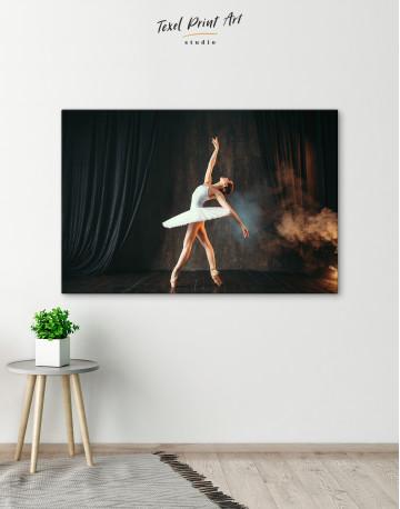 Ballerina Photo Canvas Wall Art - image 6