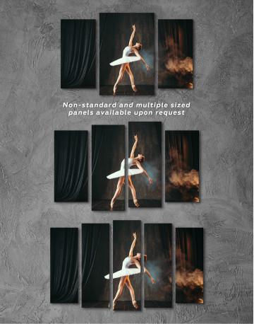 Ballerina Photo Canvas Wall Art - image 5